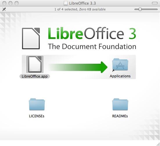 Libre Office 3.3.2 Installer Window