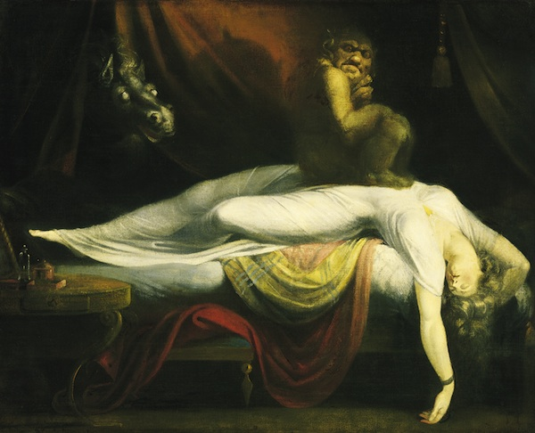 John Henry Fuseli's The Nightmare painted in 1781
