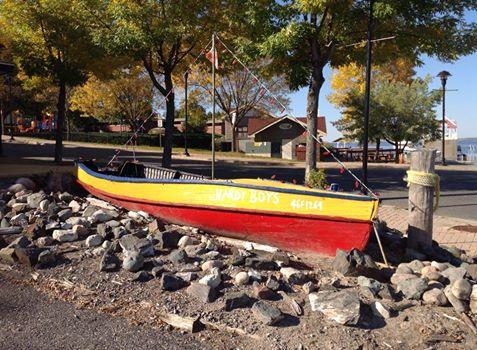 Hardy Boys Boat