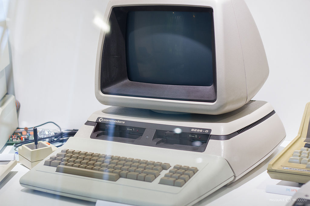 Commodore 8296 Personal Computer